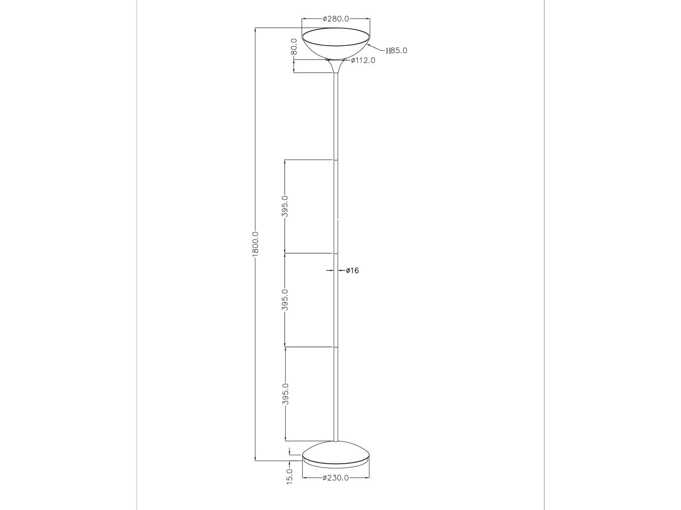 Designer Stehleuchten mit Deckenfluter Stehlampen Leselicht Lesearm zum lesen