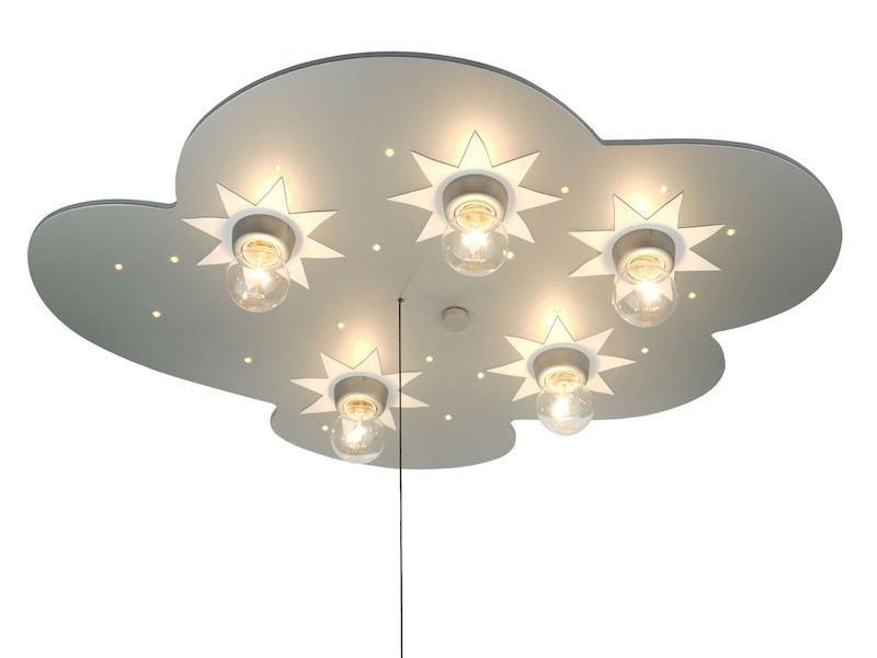 LED Kinder Deckenlampe TITAN Sterne mit LED-Schlummerlicht ...