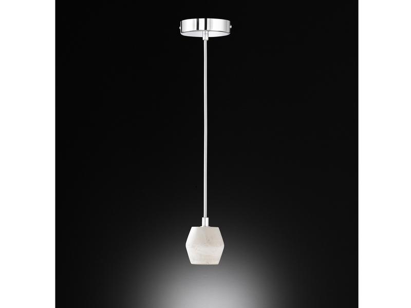 Vintage Schnurpendel aus Beton Stoff E27 Filament LED Ø 7,8cm Hängelampe Retro