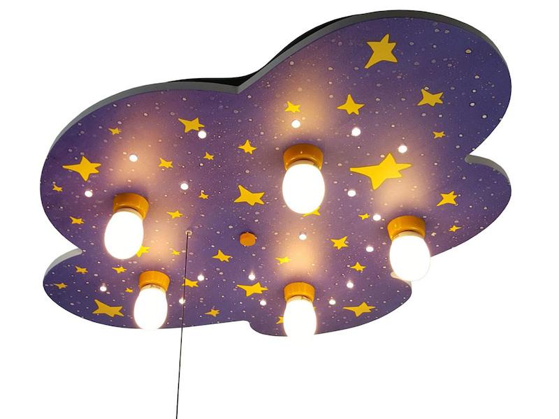LED Kinder Deckenlampe Nachthimmel Sterne LED-Schlummerlicht ...