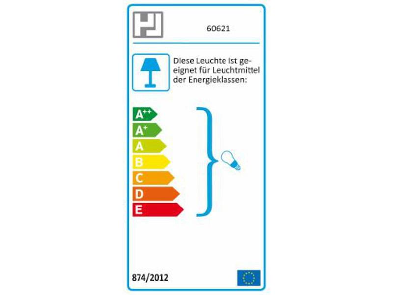 E27 Pendel Esstischlampe Stoffschirm oval weiß Dekor Honsel Pendelleuchte THOR