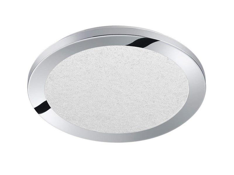 Deckenleuchte Diele Kunststoff Acryl LED Schlafzimmer silber