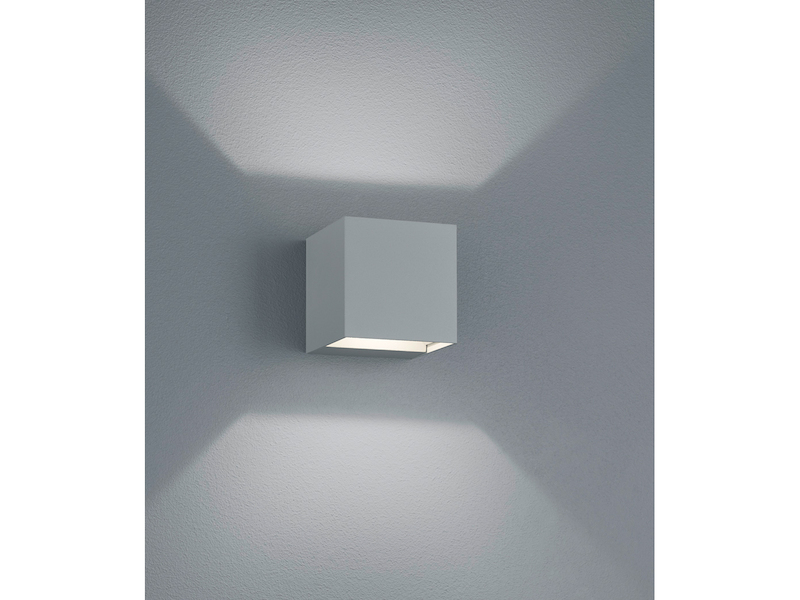 Wandleuchte Deckenleuchte Aluminium Glas IP54 LED Modern