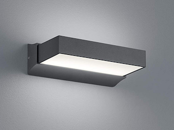 LED Außenwandleuchte CUANDO in Anthrazit Up & Down Light IP65 - Hausbeleuchtung