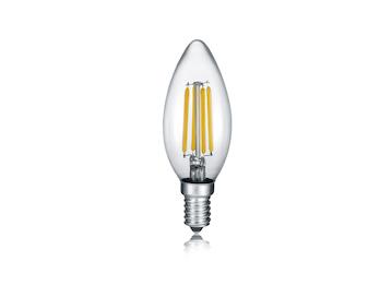 Rundes LED Leuchtmittel mit E27 Fassung 6W /& 190Lm in Warmweiß,aus farbigem Glas
