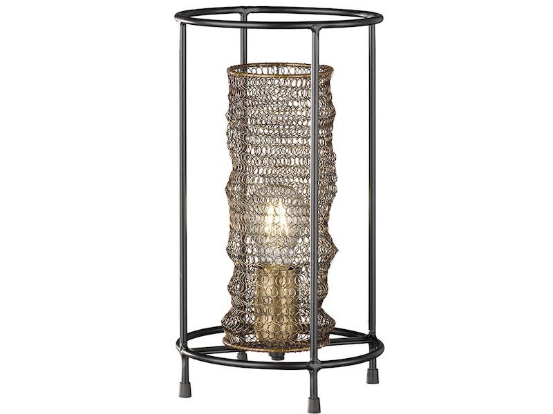 Lampen puristisch Tischlampe Tischleuchte Metall Vintage