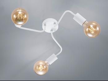 4W warmweiß für E27 Wohnraumlampen Großes Filament LED Leuchtmittel Kugel 14cm