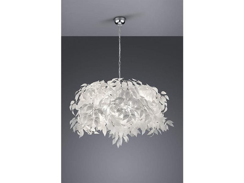 Edle Hängeleuchte Deckenlampe Wohnzimmer Blätter Licht