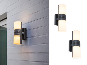 Zylinderförmige LED Wandleuchte aus dem Hause LUTEC meine