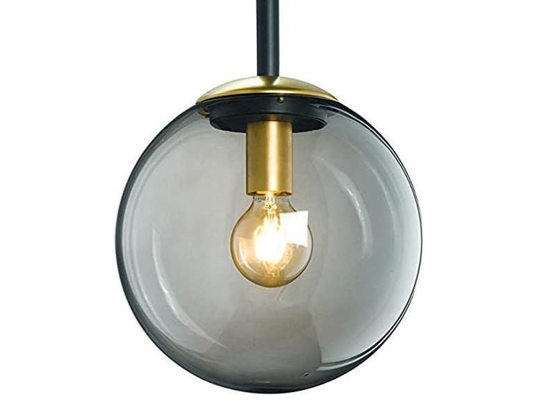 In- und Outdoor geeignet 6h Timer | Mit Kugelleuchte und DREI Lichteffekten Integrierte Beleuchtung /Ø 23cm 21 x 21 x 84 cm Hoberg LED Dekos/äule Mandala Design in Rost-Optik