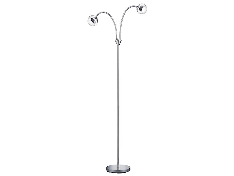FLexarm Trio LED-Stehleuchte,1x4,2W SMD-LED Höhe 125cm chrom