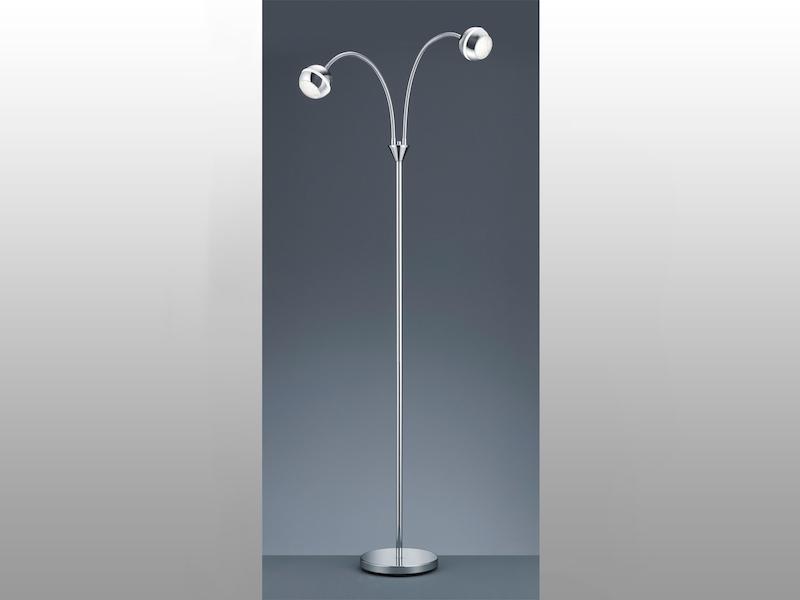 1 x 4,2W SMD-LED ink LED-Tischlampe Nickel Flexarm Trio-Leuchten