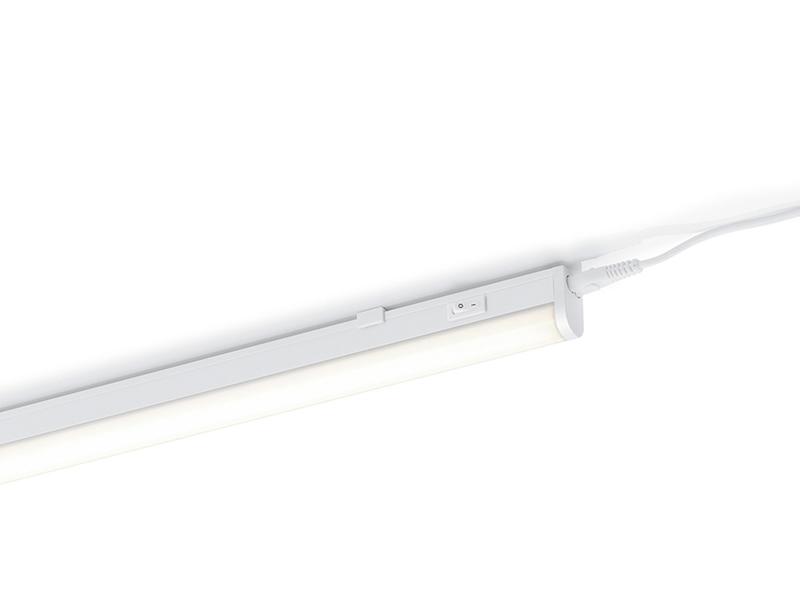Trio LED Wandleuchte 2730  weiß mit Schalter 114cm Unterbauleuchte