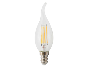 FILAMENT-LED Kerze E14, 4 Watt, 400 Lumen, 2700 Kelvin, warmweiß