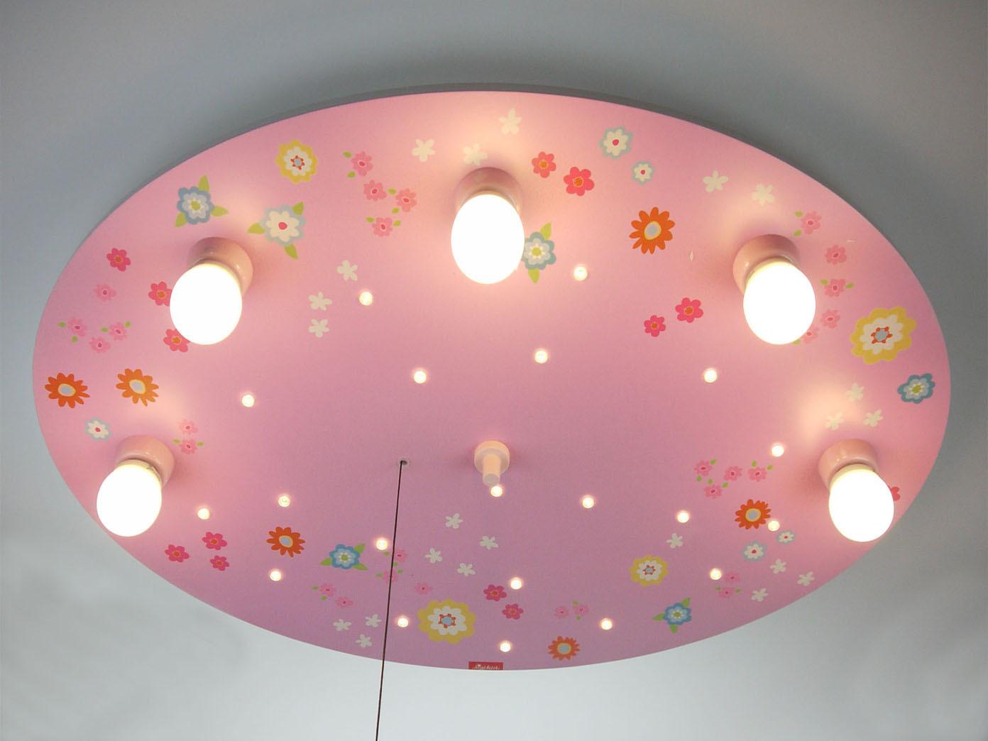 LED Lampe Kinderzimmer 5 LED Sternenhimmel Schlummerlicht Nachtlicht ...