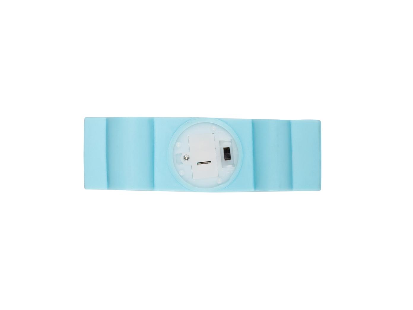 KINDERZIMMERLAMPE LED AUTO in blau batteriebetrieb Nachtlicht Lampe ...