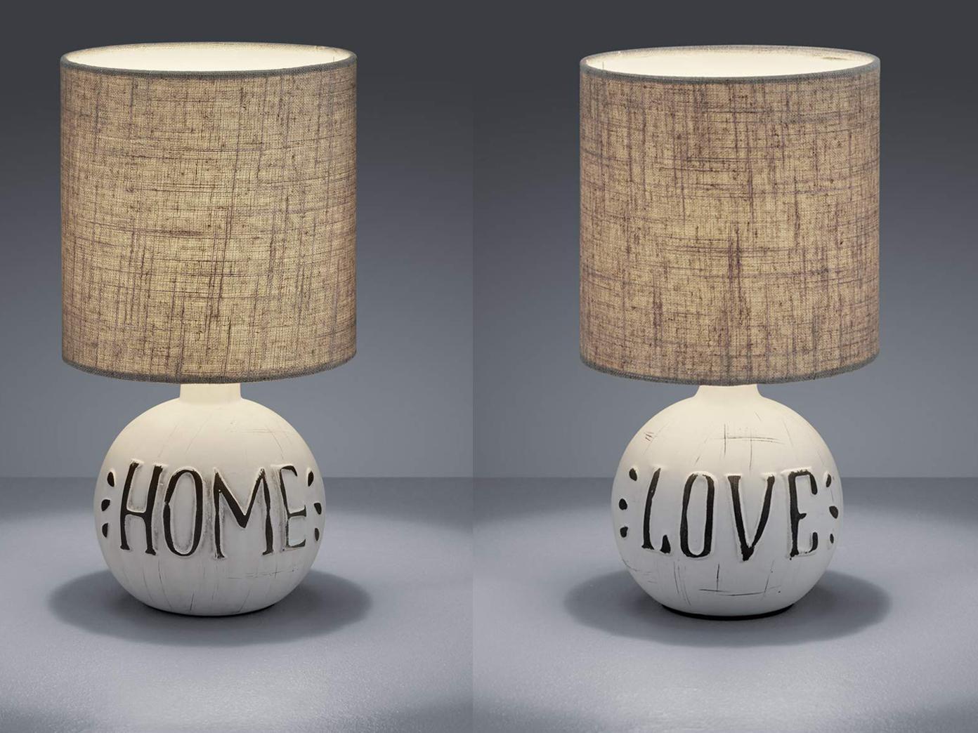 Kleine Gemutliche Keramik Lampen Fur Die Fensterbank Tischlampen Fur Wohnzimmer Ebay