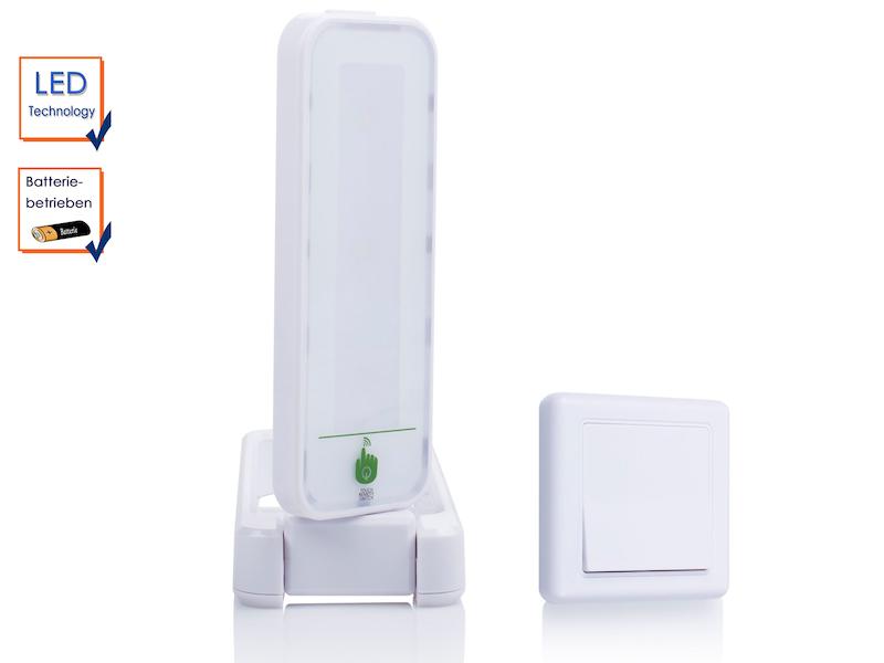 drehbare touch led leuchte mit zus tzl schalter ideal als nachtlicht notlicht ebay. Black Bedroom Furniture Sets. Home Design Ideas