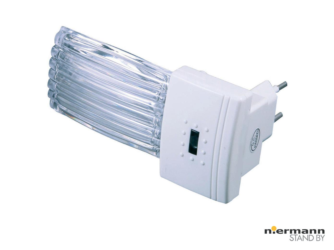 LED Steckdosenlicht RIFFLE weiß Nachtlicht für Kinderzimmer ...