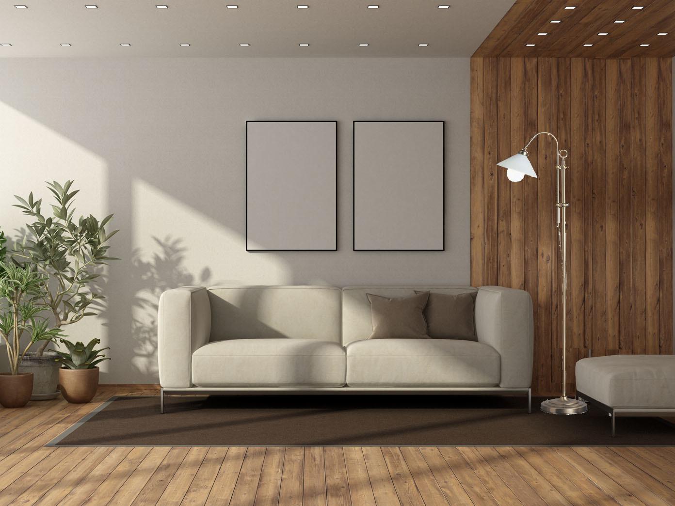 Antike-Stehleuchte-in-Altmessing-Lampenschirm-Glas-opal-weiss-Wohnraumleuchte