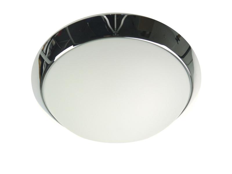 Garagenlampe Kellerleuchte Diele Treppenhausbeleuchtung Opalglas matt Ø 30cm